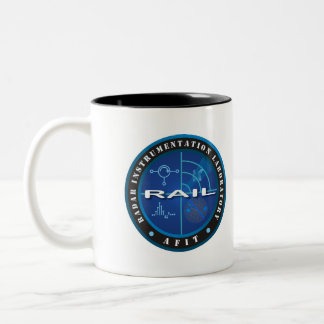 RAIL Summer 2010 Two-Tone Coffee Mug