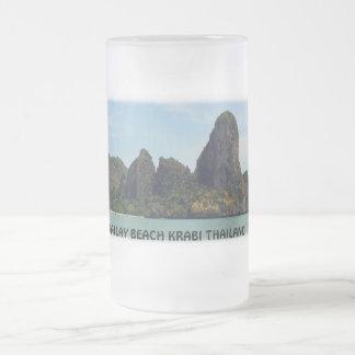 Railay Beach Krabi Thailand Frosted Mug