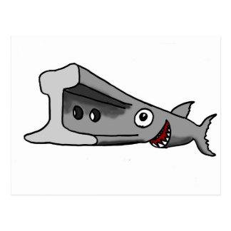 Railfish Postcard