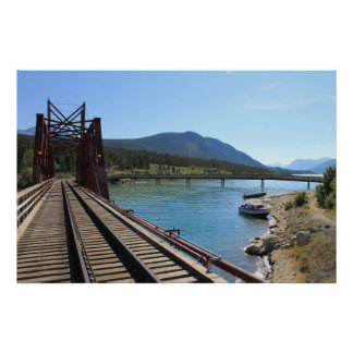 Railroad Bridge 1 Poster