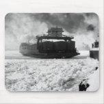 Railroad Car Ferry: 1901 Mousepad