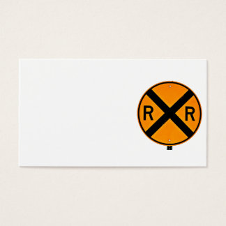 Railroad Crossing Business Card