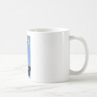 railroad crossing Route 66 Shield Coffee Mug