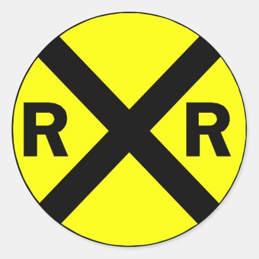 Railroad Stickers Zazzle Autos Post
