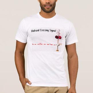 Railroad Crossing Signal Gate T-Shirt