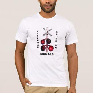 Railroad Crossing Signals T-shirt