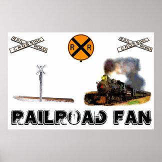 Railroad Fan Poster