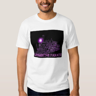 Railroad Fanatic Tee Shirts