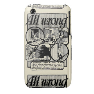 Railroad Freight Car Safety iPhone 3 Case-Mate Cases