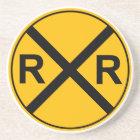 Railroad Sign Coaster