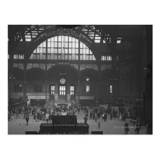 Railroad Station Postcard