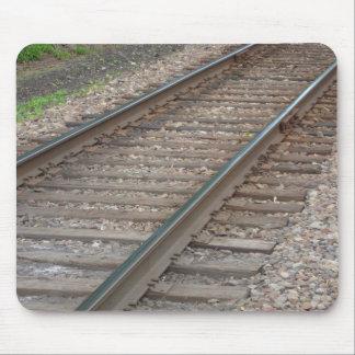 Railroad Tracks Mousepad
