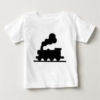 Railroad Train Baby T-Shirt