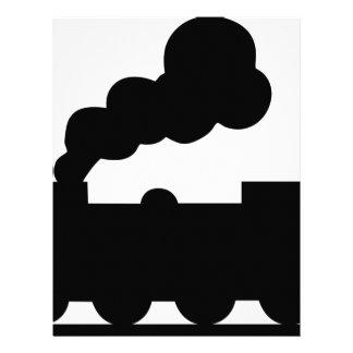Railroad Train Letterhead