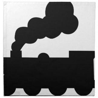 Railroad Train Napkin