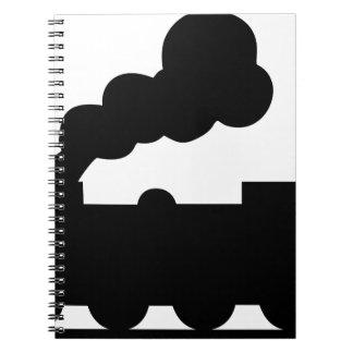 Railroad Train Notebook