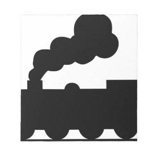 Railroad Train Notepad