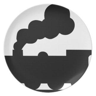 Railroad Train Plate