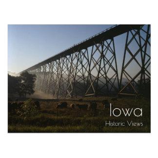 Railroad Viaduct Postcard