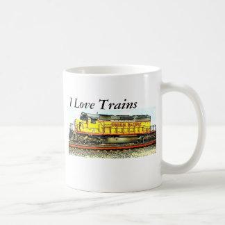 Railroadiana Classic White Coffee Mug
