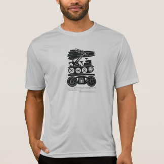 Railroads Moved 90% of all Freight in World War 2 T-Shirt