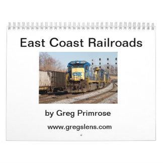 Railroads of the East Coast V1 Wall Calendar