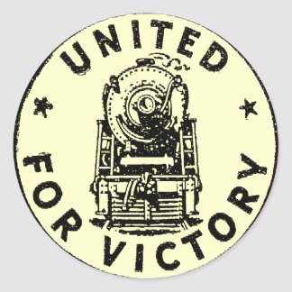 Railroads United For Victory 1940 Stickers