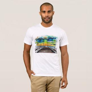 Rails towards Sunset T-Shirt