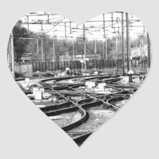 Rails way heart sticker