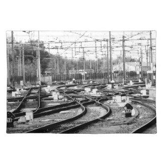 Rails way placemat