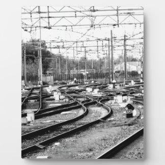 Rails way plaque
