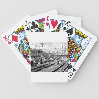 Rails way poker deck
