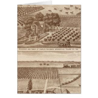 Railsback, Hackett ranches Card