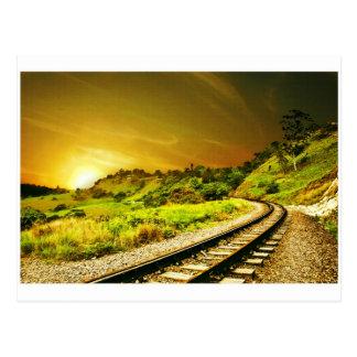 Railway2 Postcard