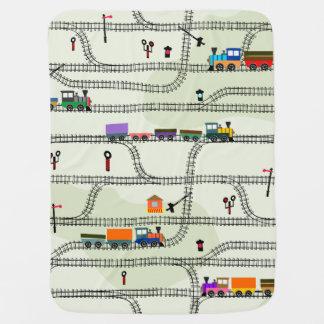 Railway Baby Blanket