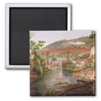 Railway Bridge at Atoyac, from 'Album of the Mexic Magnets