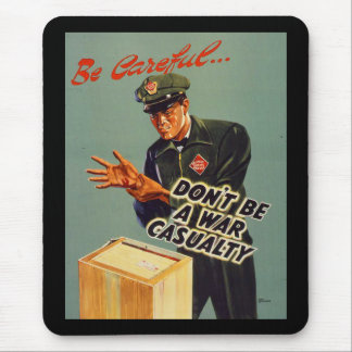 Railway Express 1940 Safety Mouse Pad