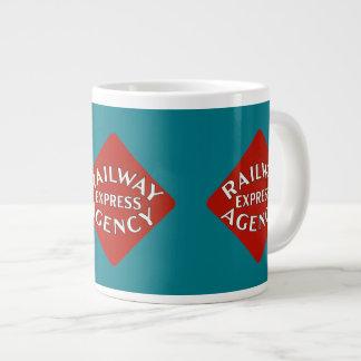 Railway Express Agency Large Coffee Mug