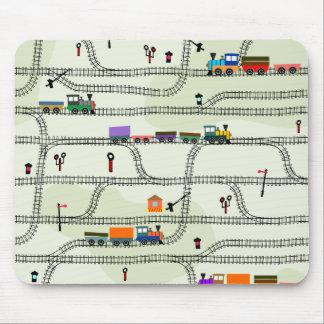 Railway Mouse Pad