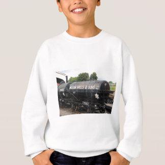Railway scene - tankers - vintage sweatshirt