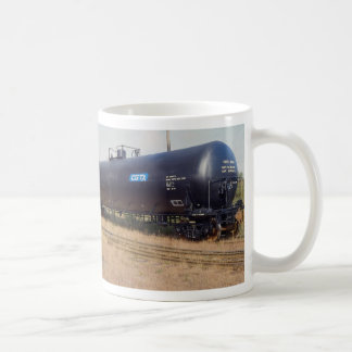 Railway tank car, Nova Scotia, Canada Coffee Mug