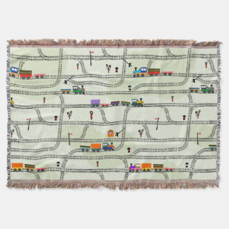 Railway Throw Blanket