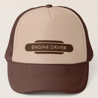 Railway Totem Engine Driver Brown Hiking Duck Trucker Hat