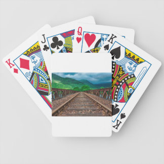 Railway Tracks Bicycle Playing Cards