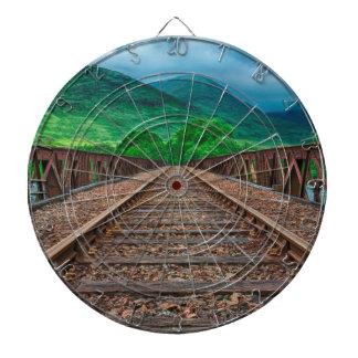 Railway Tracks Dartboard