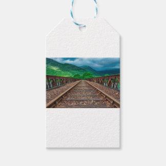 Railway Tracks Gift Tags