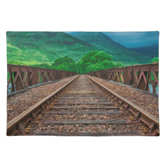 Railway Tracks Placemat