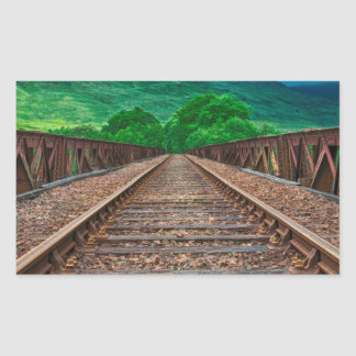 Railway Tracks Sticker