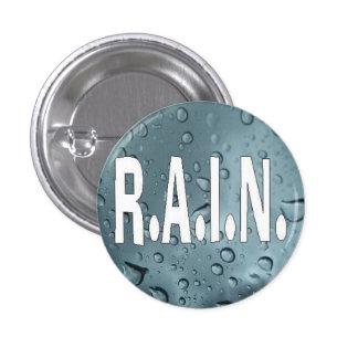 RAIN 1 INCH ROUND BUTTON