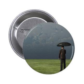 Rain 2 Inch Round Button